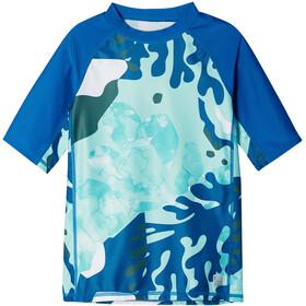 Reima Uiva Swim Shirt Kids, bleu